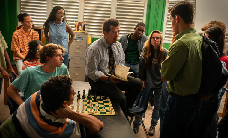 John Leguizamo, his chess movie on hold, is still two steps ahead