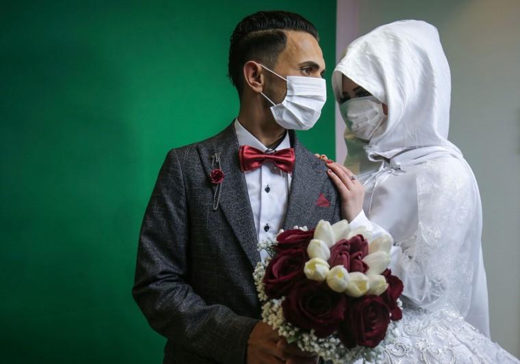 Image: TOPSHOT-PALESTINIAN-GAZA-HEALTH-VIRUS