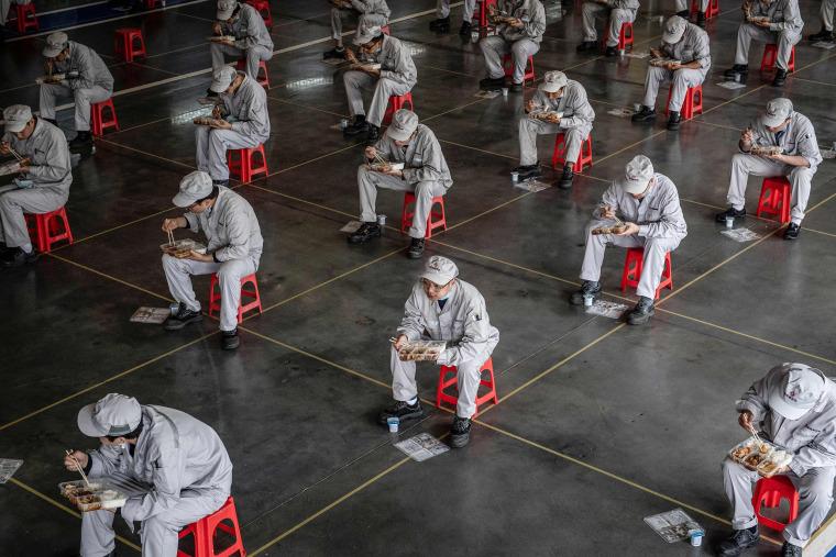 Image: TOPSHOT-CHINA-HEALTH-VIRUS