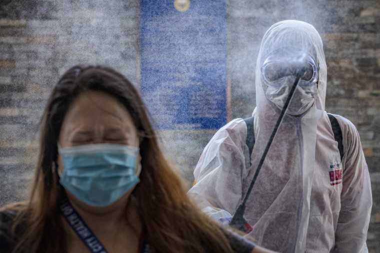Image: *** BESTPIX *** Northern Philippines Under Lockdown As The Coronavirus Continue To Spread