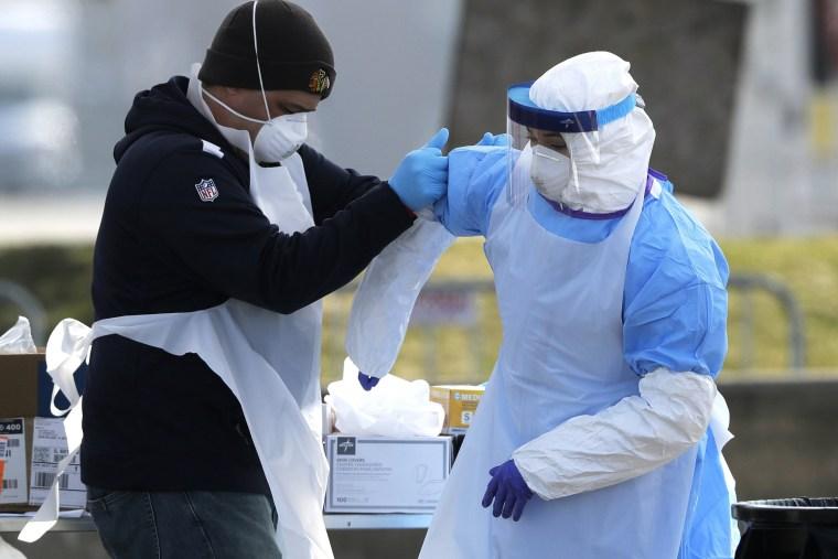 Image: medical personnel coronavirus