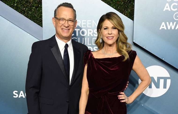 Image: Tom Hanks and RIta Wilson