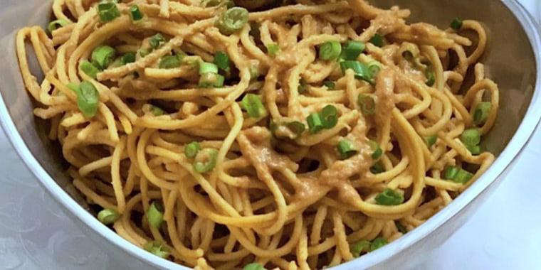 Joy Bauer's 5-Ingredient Cold Sesame Noodles