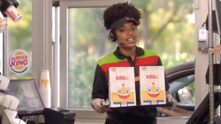 Image: Burger King advertisement