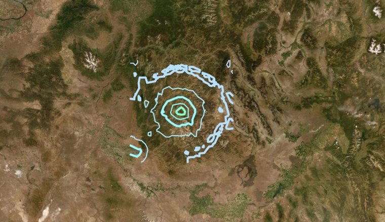 Image: Idaho earthquake