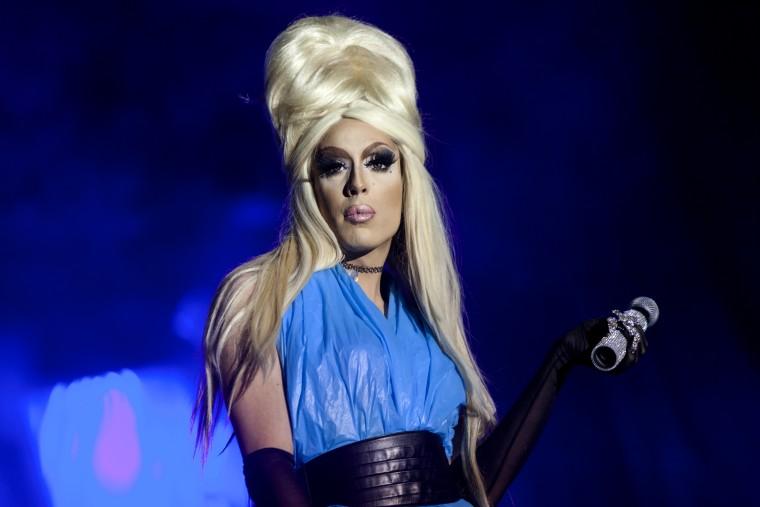 Image: Alaska performs at the Copenhagen Pride Drag Night in 2016.