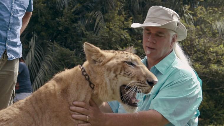 "Bhagavan \""Doc\"" Antle in \""Tiger King\"" on Netflix."