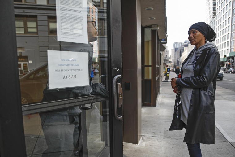 The coronavirus economic crisis is here. Unemployment office workers are on the front lines.