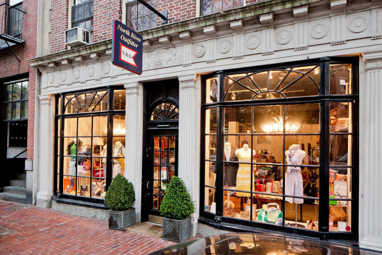 North River Outfitter in Beacon Hill, Mass., is owned by Jason and Alice Indelicato.
