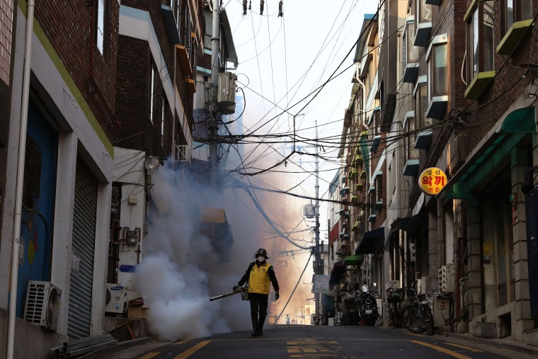Concern In South Korea As The Coronavirus Continue To Spread