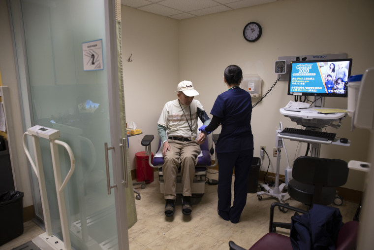 Image: Non-Profit Community Health Centers Treat Patients During COVID-19 Pandemic