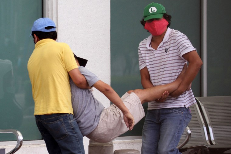 ECUADOR-HEALTH-VIRUS