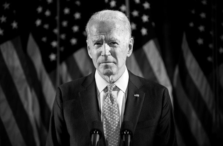 Image: Joe Biden speaks about coronavirus in Wilmington, Del., on March 12, 2020.