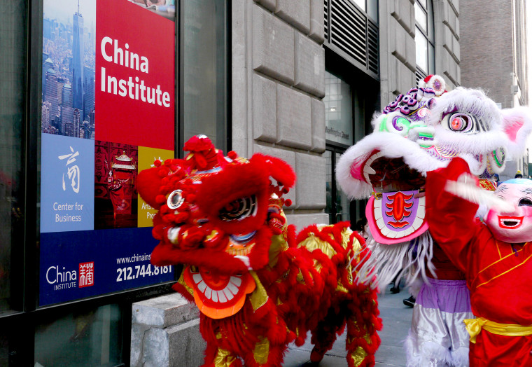 The China Institute in New York City.