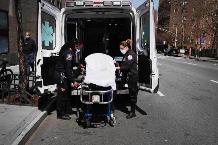 NYC first responders reeling from 'unprecedented' call volume amid coronavirus