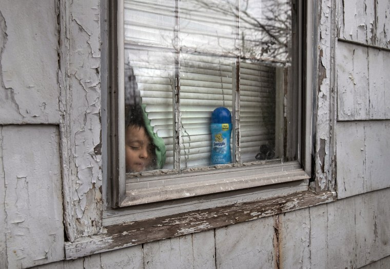 Image: Sick Immigrants Isolate At Home During Recovery From Suspected COVID-19 Cases