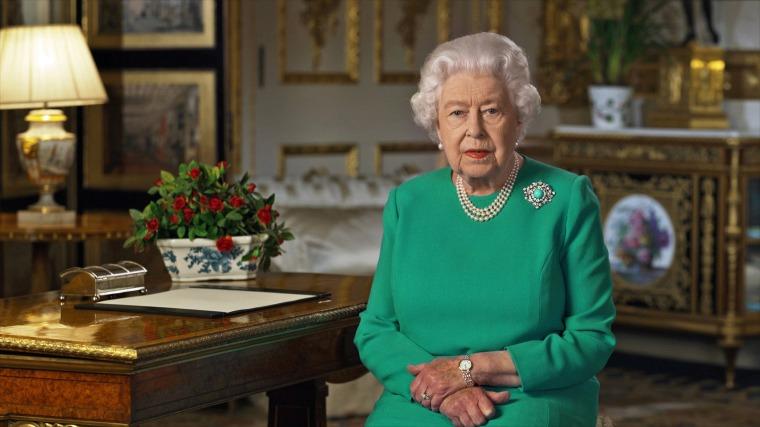 Queen Elizabeth II calls for 'good-humored resolve' as coronavirus deaths rise in U.K.