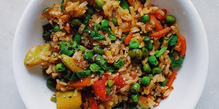 One-Pot Rice with Veggies