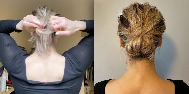 Hair Bun Tutorial 11 Hairstyles To Try While You Re Quarantining