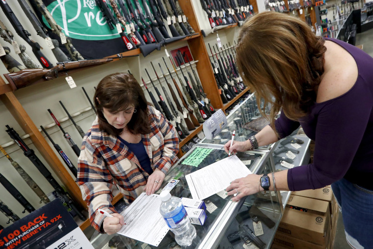 Image: Gun store