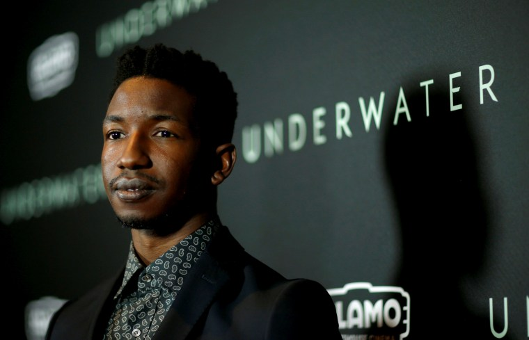 Image: Mamoudou Athie at a screening in Los Angeles on Jan. 7, 2020.