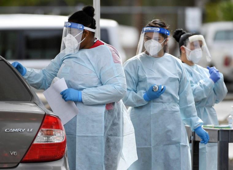 Image: UNLV Medicine Nearing Point Of Running Out Of Coronavirus Testing Kits