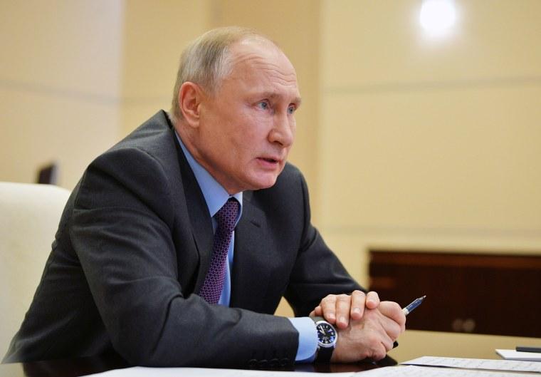 Image: Russian President Putin