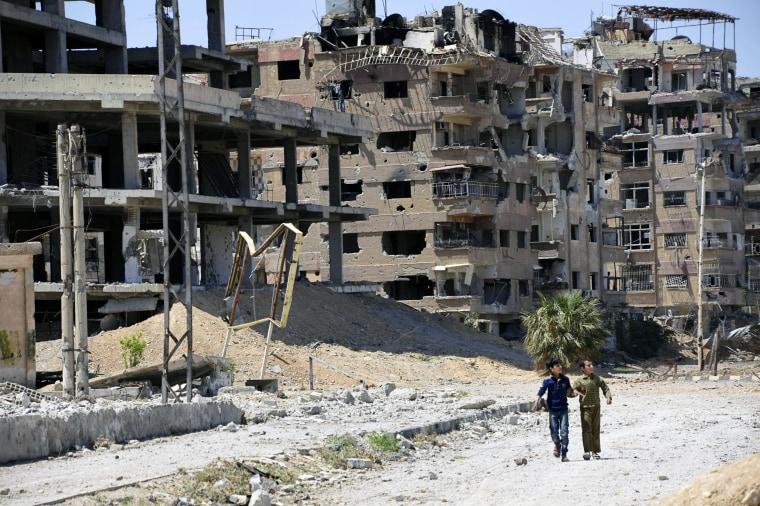Douma in Syria