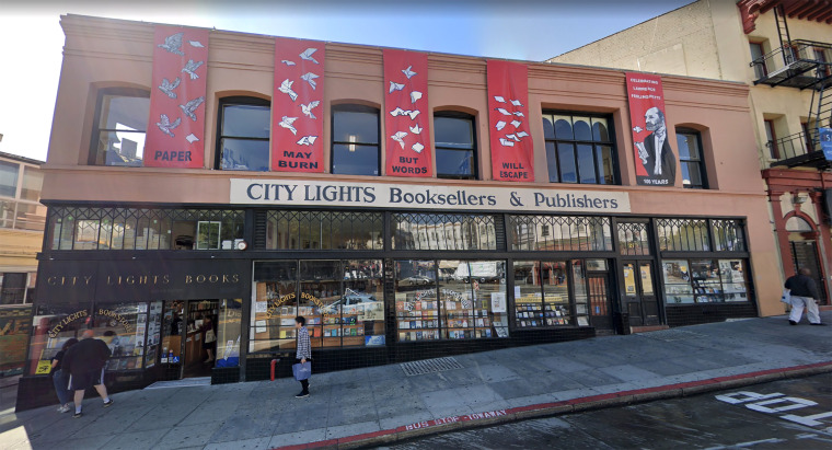 Image: City Lights Bookstore, San Francisco