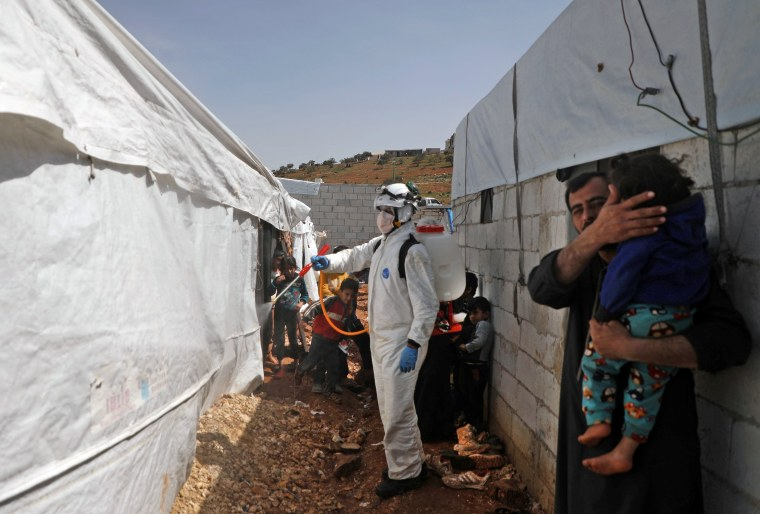 SYRIA-CONFLICT-HEALTH-VIRUS-IDLIB