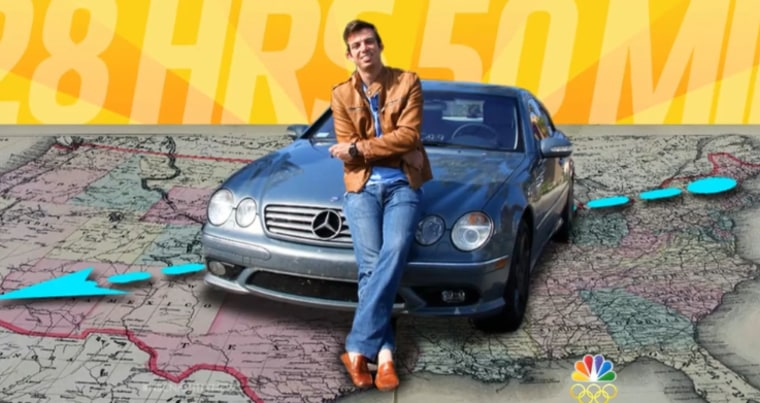 """Atlanta car enthusiast Ed Bolian, who set a record in 2013 by reaching speeds of up to 158 mph in his coast-to-coast """"Cannonball Run."""""""