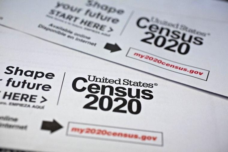 Image: U.S. Census Forms As Bureau Suspends 2020 Field Work On Virus Concern