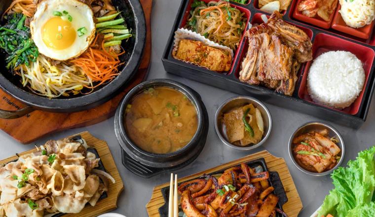 Image: Korean barbecue