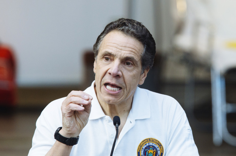 Governor Cuomo Makes An Announcement At Jacob Javits Convention Center