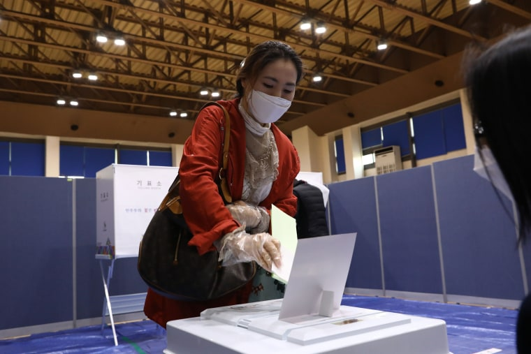 Image: South Korean election