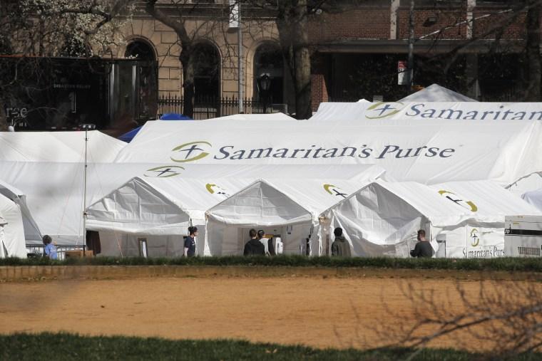 Image: Samaritan's Purse Emergency field hospital