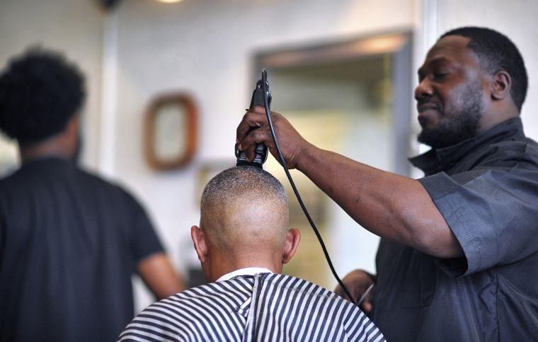 Image: Black Barbershop