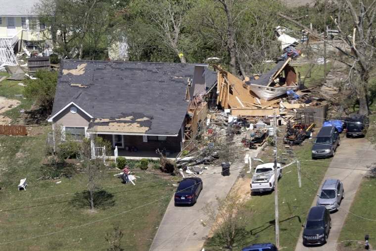 Image: Chattanooga tornado