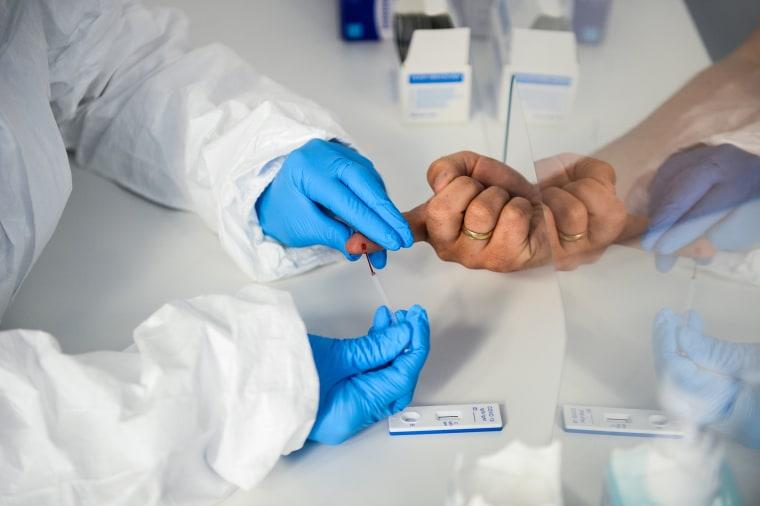Image: Hospital Offers Coronavirus Antibody Tests, But Health Authorities Urge Caution