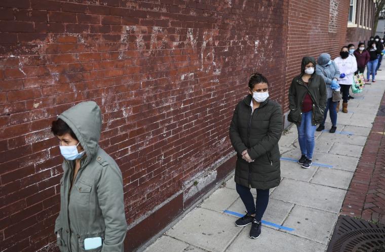 Volunteers Get Food For Chelsea Community During Pandemic