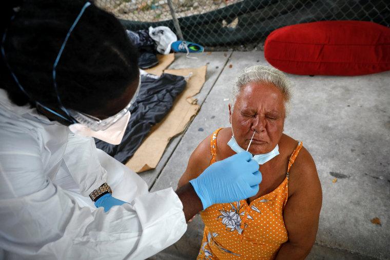 Image: Spread of the coronavirus disease (COVID-19) in Miami