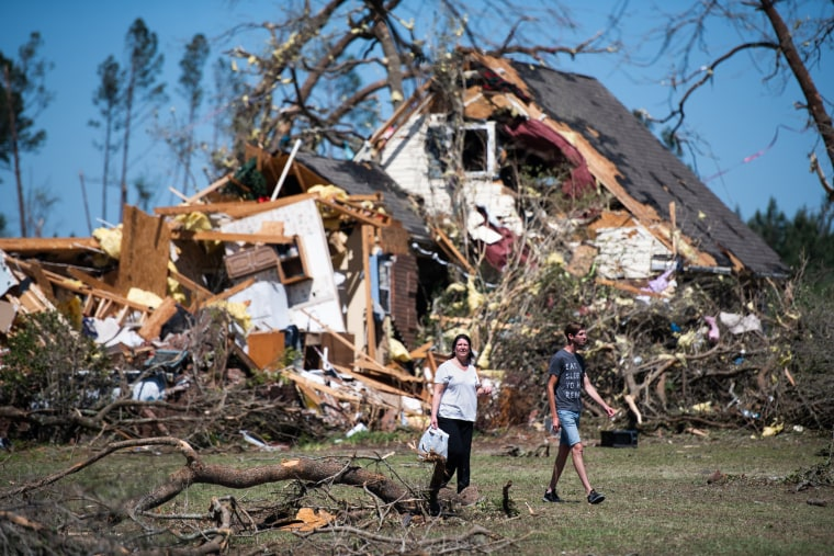 Image: At Least 30 Dead As Severe Storms Spawn Tornados In Southern U.S.