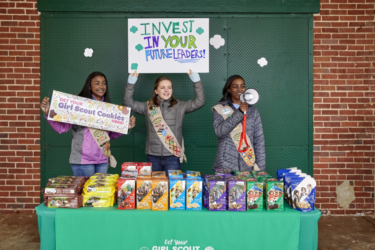 The 2020 Girl Scout cookie season launched nationally in January, but troops across the country were forced to halt in-person cookie sales in March due to the coronavirus outbreak.