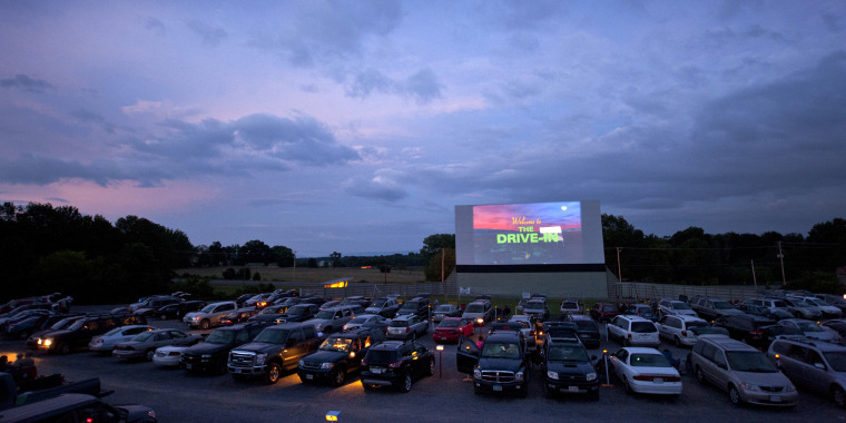 Family Drive-In at Stephens City Virginia
