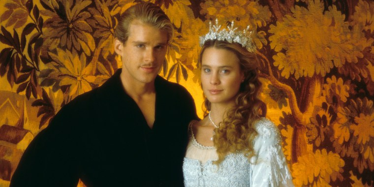THE PRINCESS BRIDE, Cary Elwes, Robin Wright, 1987. TM and Copyright (C) 20th Century Fox Film Corp. A