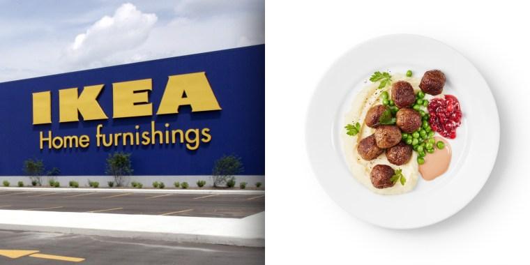 Ikea shared a meatball recipe on social media Monday.