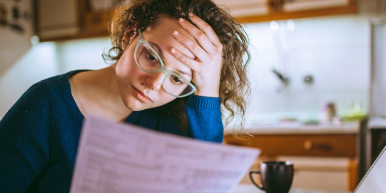 Experts warn against catastrophic thinking because it can lead to rash financial decisions you'll likely regret later.