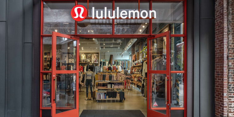 Lululemon Athletica store exterior, Ponce City Market