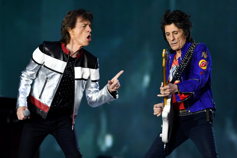 Image: The Rolling Stones perform in London