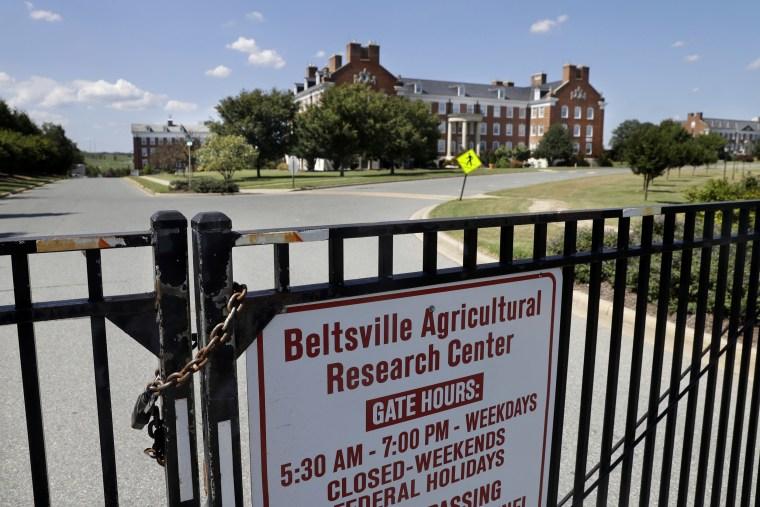 The Beltsville Agricultural Research Center in Beltsville, Md.
